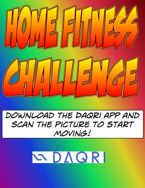 Home fitness challenge