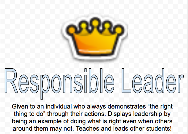 Responsible Leader Poster